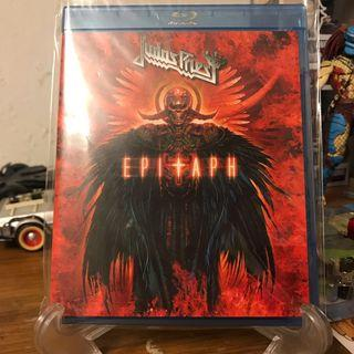 Judas Priest Epitaph Original Bluray Disc