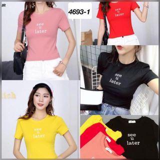 Kaos import wanita murah 46931