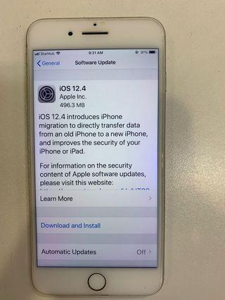 🚚 Iphone 7 plus Silver 128gb