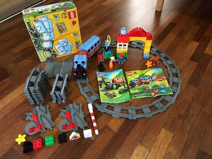 Lego Duplo Passenger Train and Tracks Bundle
