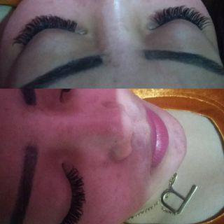 Eyelash extention murmer