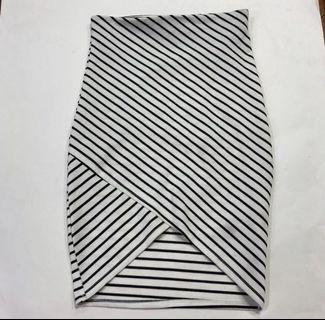 Stripe Skirt Zara ORI (Rok stripe)