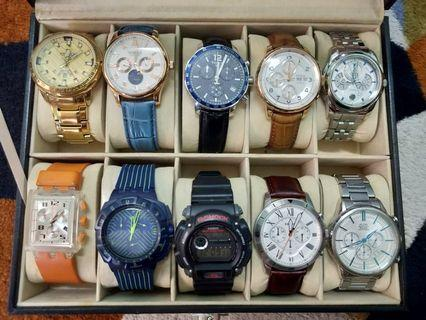 Quality Pre-Loved Watches. Tissot, Citizen, Titus, G-Shock, Alba, Swatch. Negotiable!