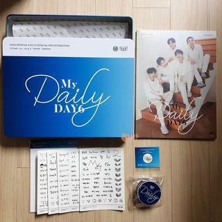 Day6 Official Fanclub MyDay 2nd Gen Kit