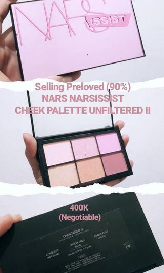 Nars - Narsissist Unfiltered II Cheek Palette