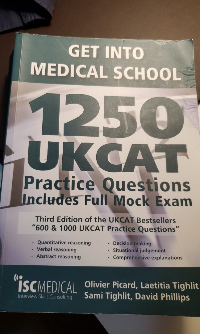 1250 UKCAT Practice Questions On Carousell