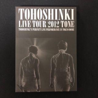 TVXQ LIVE TOUR 2012 TONE DVD