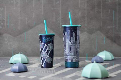 Starbucks® Tumbler 🌍 Night Sky 🌍 The Emerald City