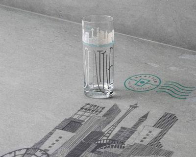 Starbucks® Glass 🌍 Cityscape 🌍 The Emerald City