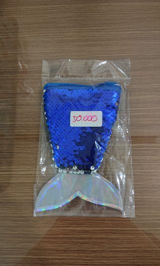 Tas Selempang Tas Import Tas Mermaind Tas Putri Duyung Blue Biru