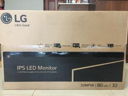 LG 32吋螢幕 型號32MP58