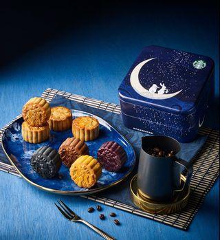 Starbucks® Mooncake ❇ Mooncake Gift Box ❇ Mid-Autumn Moments