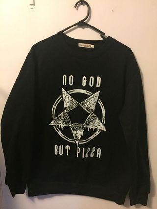 Small pizza sweater