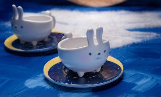 Starbucks® Mug 🌜Little Mates🌛 Moon Rabbit
