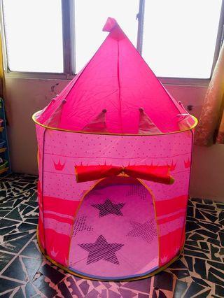城堡帳篷(附地墊、球)