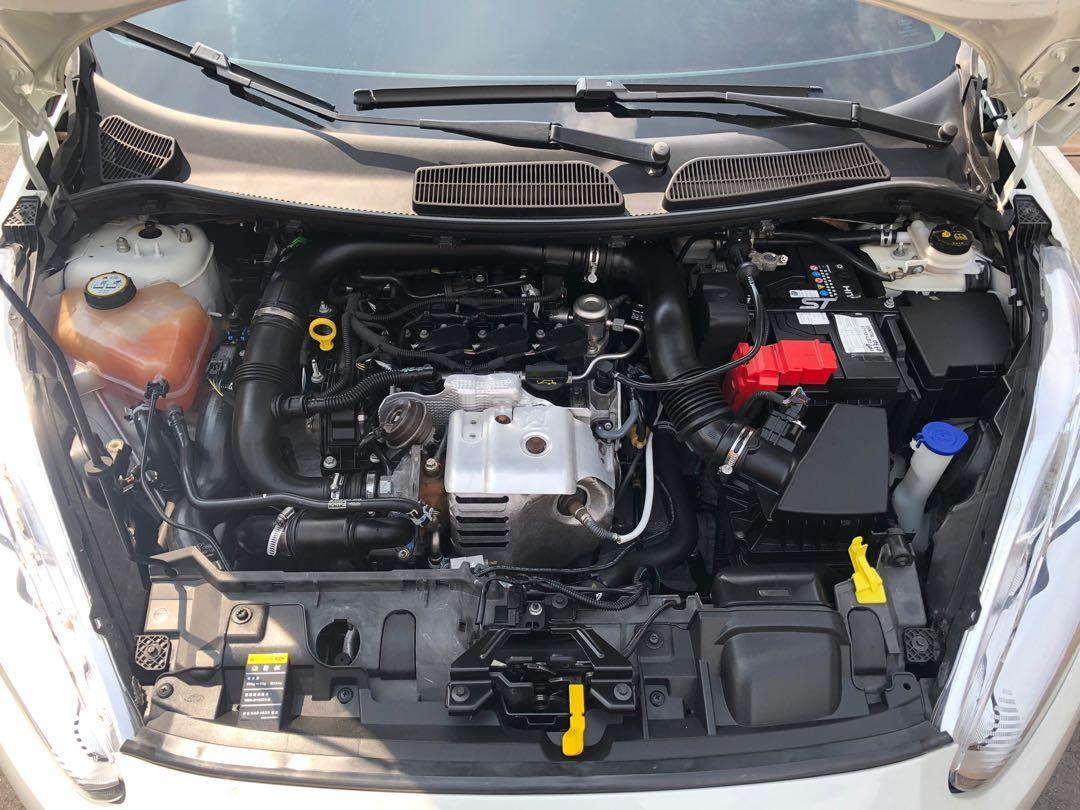 15年 Fiesta 1.0頂級 渦輪增壓