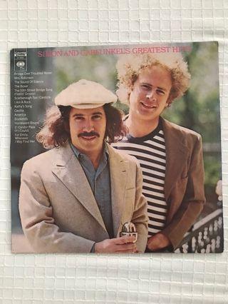 Simon And Garfunkel Greatest Hits Vinyl Record LP