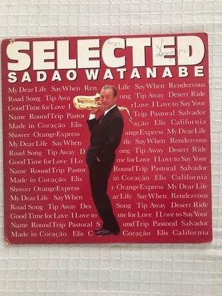Sadao Wantanabe Selected Vinyl Record LP
