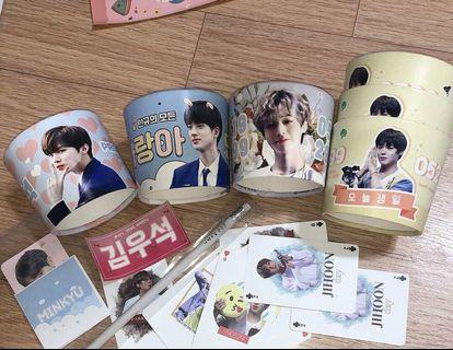 Fansite cupsleeve/pc/goods
