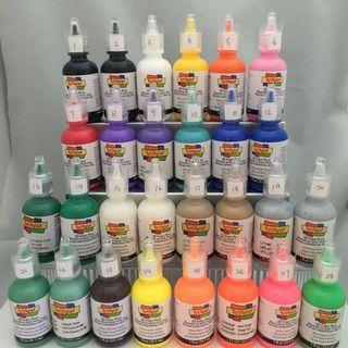 Scribbles 3D Fabric Paint Individual Bottles #craft