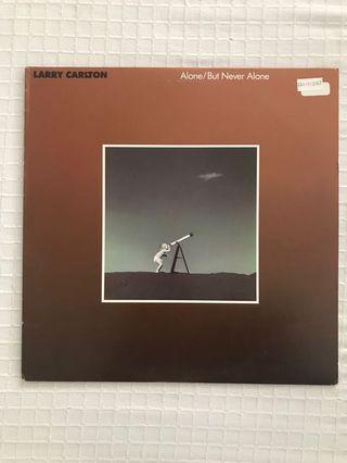 Larry Carlton Alone / But Never Alone Vinyl Record LP