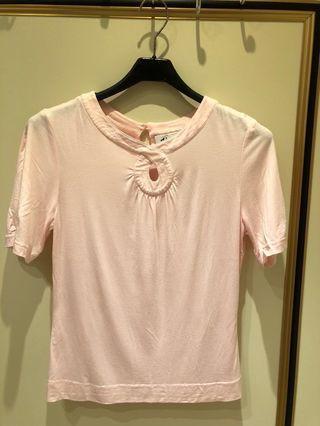 黛安娜嫩粉紅上衣