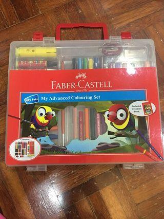 Fabre Castell advances colouring set