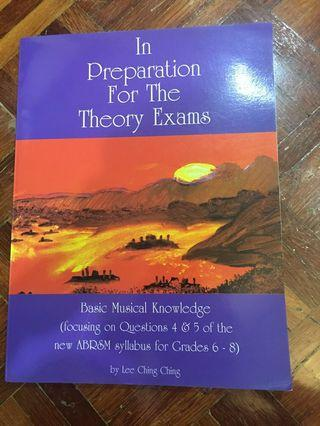 In preparation for the theory exams