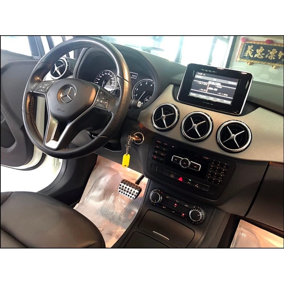 2012 M-Benz B-Class B200 BlueEFFICIENCY***手機:0925-893-839 阿嘎