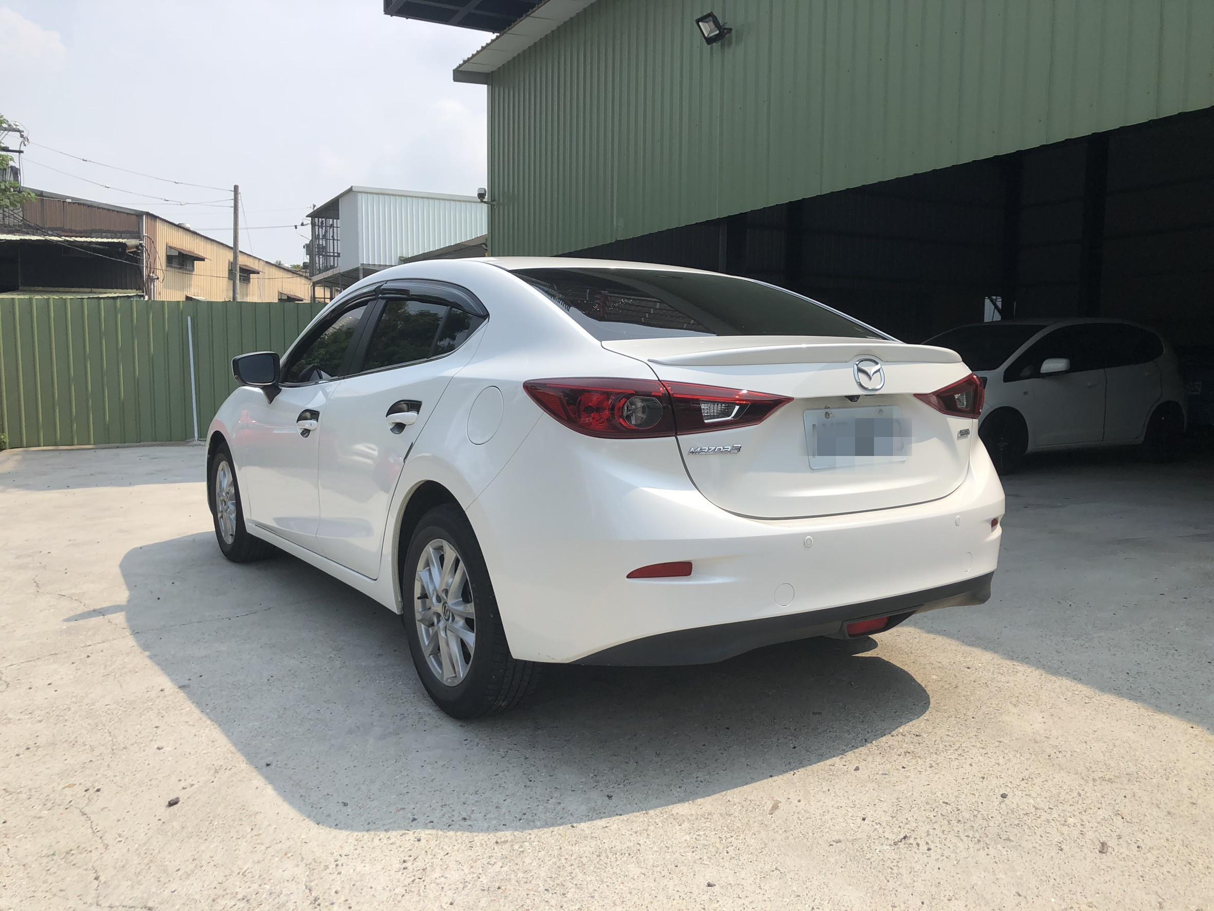 2018年 魂馬3 白 4D  2.0 熱門車中古車二手車