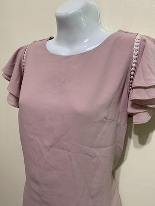 藕紫色美背上衣 #五折清衣櫃