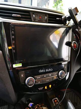 """10""""android head unit👍👍👍Nissan Qashqai upgraded to Android HU! One of the most complete feature HU in the market for the most entertainment on the road!  Have yours done now!  #android #quality #datsauto #nissan"""
