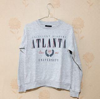 Bershka Grey Sweater Shirt