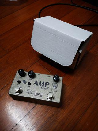 Lovepedal Amp Eleven 11 Overdrive with Boost