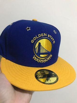 New Era 金州勇士隊冠軍棒球帽