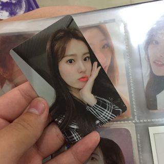 [WTS/WTT]IZONE Hyewon and unit Photocard