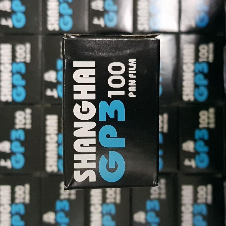 35mm Shanghai GP3 100 Pan Fresh Film Roll ( Black and White )