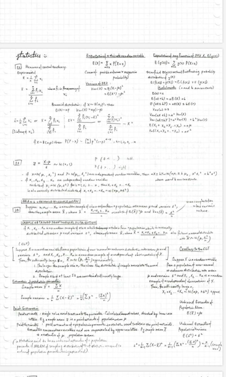 A LEVEL NOTES by Hwa Chong Straight A Student