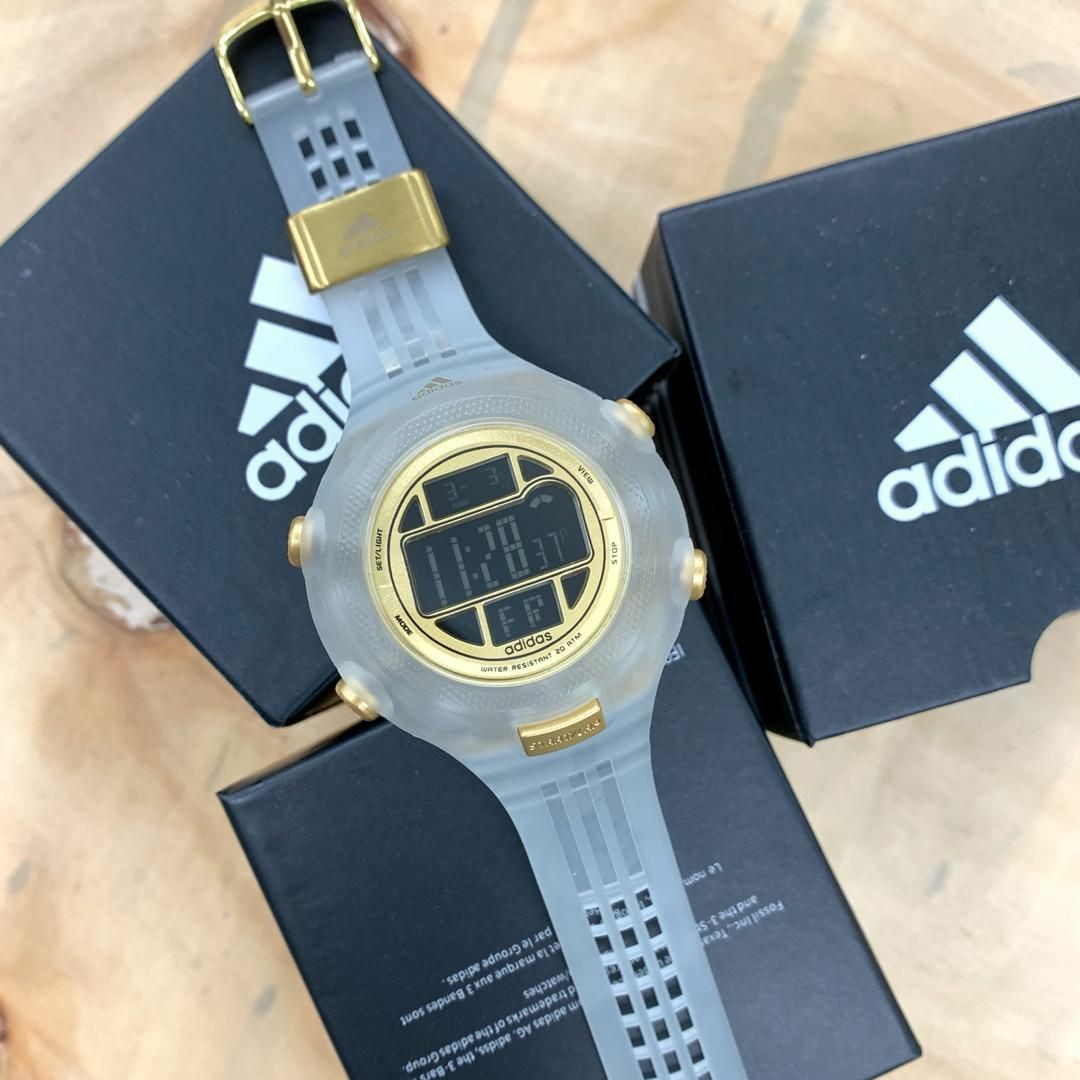 Superior Boquilla Valiente  Adidas jelly transparent, Men's Fashion, Watches on Carousell