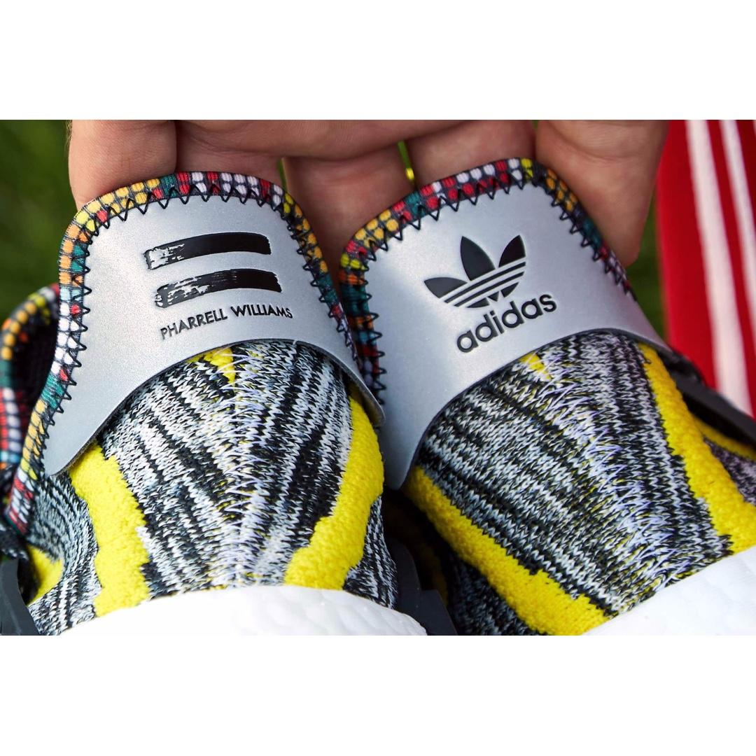 Adidas Originals x Pharrell Williams Afro Solar HU NMD