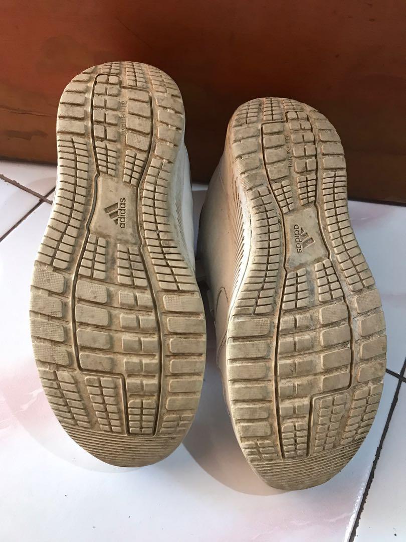 adidas white shoes kids