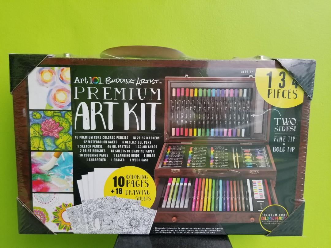 Art kit and sketchpad on carousell
