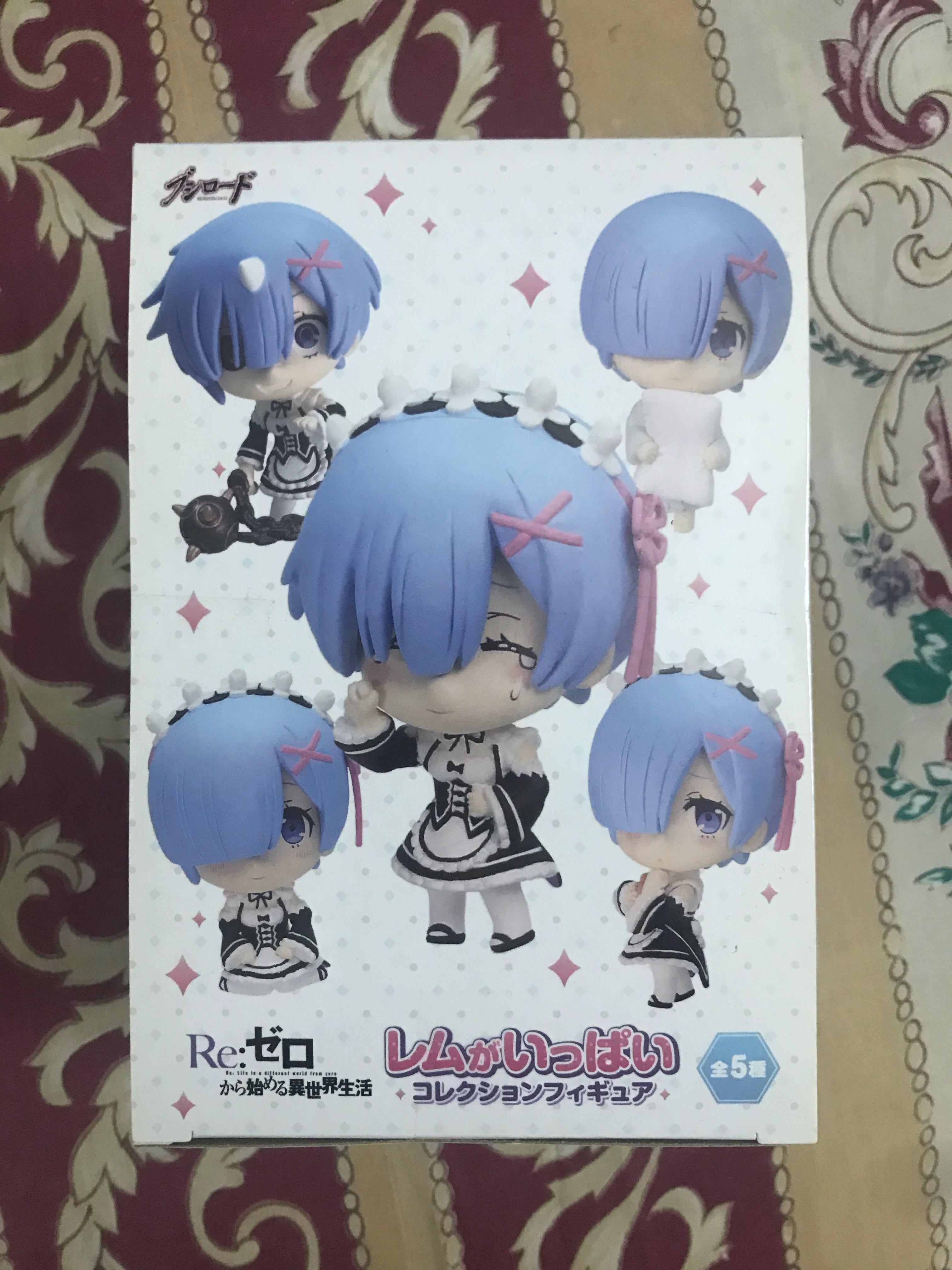 Authentic Rem ga Ippai Collection Figure 6Pack BOX