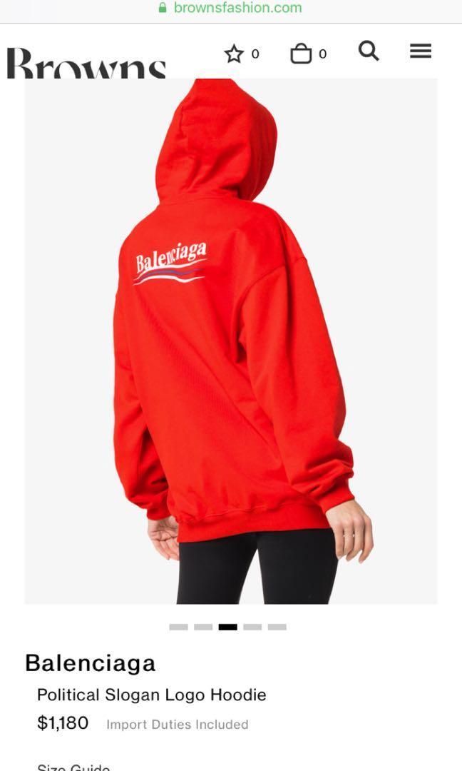 PRICE REDUCED ALOT) Balenciaga Red