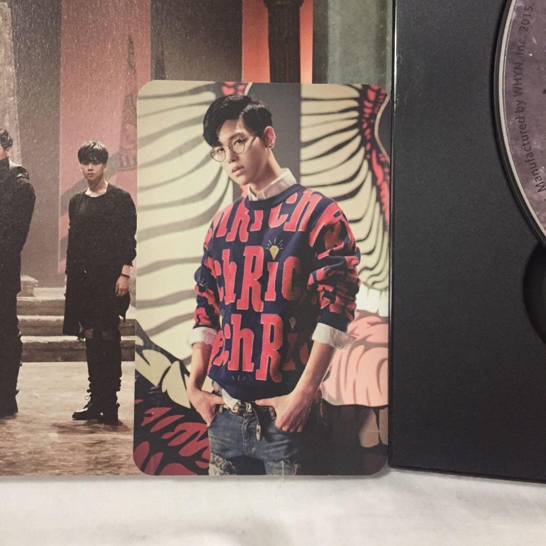 💿B.A.P Matrix Kpop Album CD + Photobook + Zelo photocard