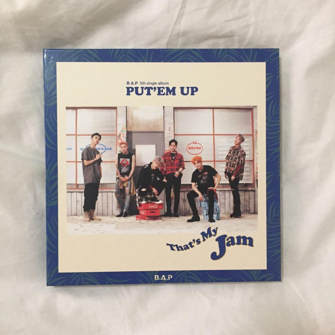 💿B.A.P Put 'em up Kpop Album CD + Photobook + Daehyun photocard + Poster