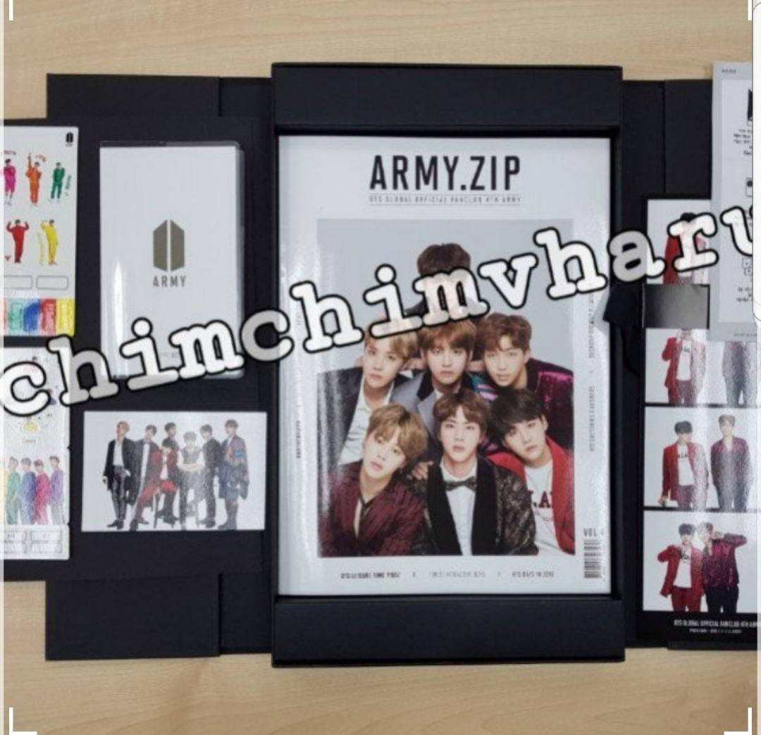BTS 4TH TERM ARMY MEMBERSHIP KIT (Official and 100% good condition)