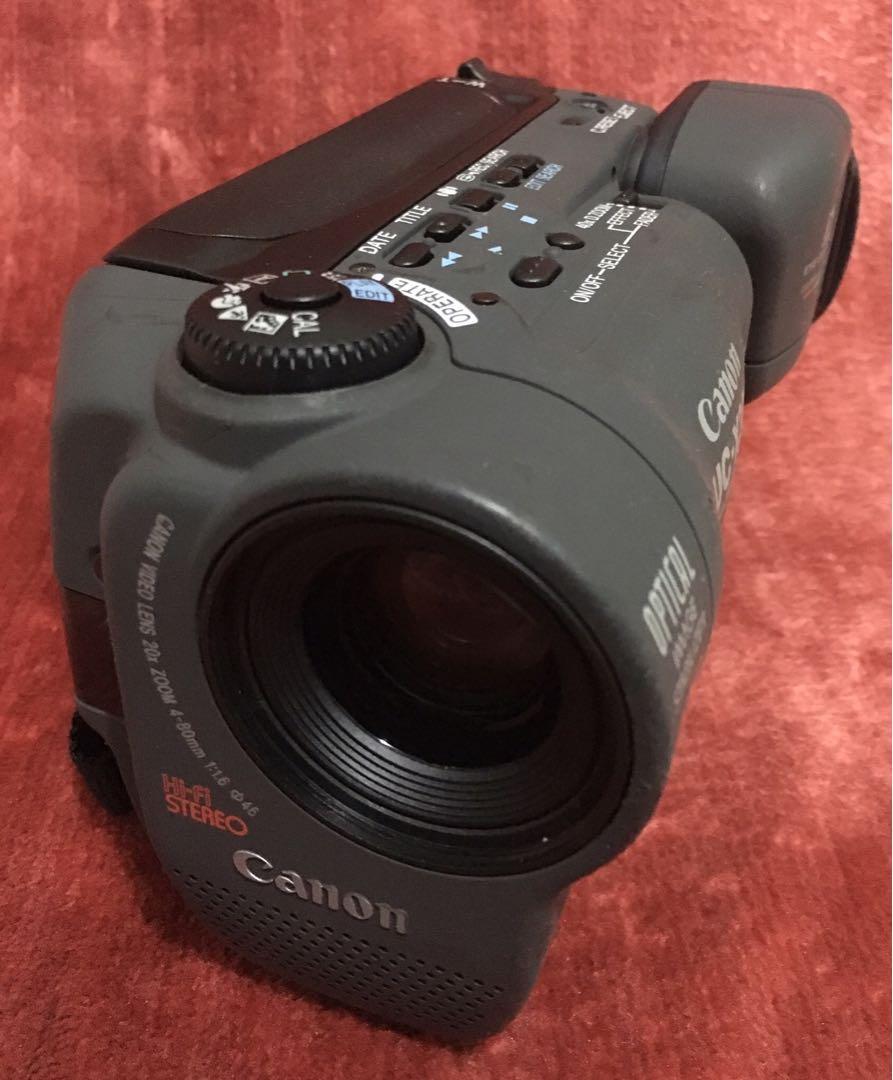 Hi8 camcorder Canon Uc-X30, Vintage & Collectibles, Vintage