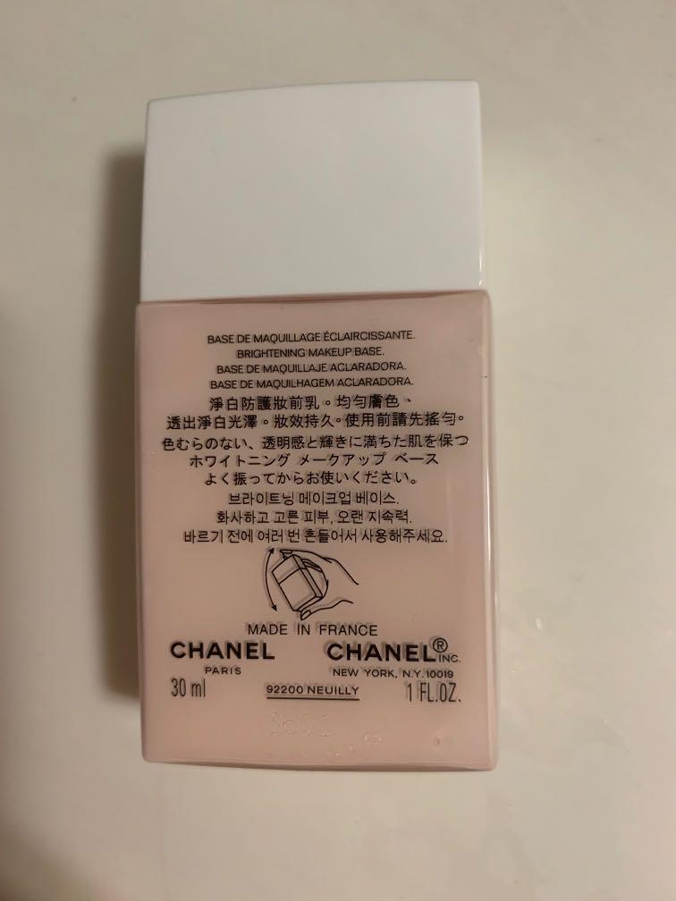 Chanel Brightening Makeup Base
