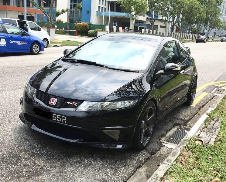 Civic type r fn2r monthly rent